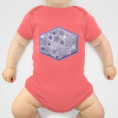 Spider net graphical Onesie by LoRo  Art & Pictures - $20.00
