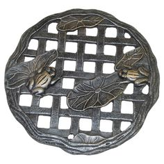I pinned this Frog Stepping Stone in Antique Pewter from the Outdoor Retreat event at Joss and Main!