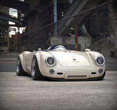 """audi vehicles Porsche 550 Spyder """"Cream"""" Concept Shows Minimalist Design, Is Actually a Build - autoevolution Porsche Boxster 986, Porsche 550 Spyder, Porsche Cayman Gt4, Porsche Macan Turbo, Carros Porsche, Porsche Autos, Bmw Autos, Porsche Taycan, Porsche Girl"""