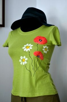 Hand painted t-shirt