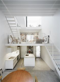 Lofts! Bare... But with a little decoration this could be really cute!!!
