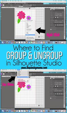 What are Compound Paths and Grouping {Silhouette Boot Camp Lesson