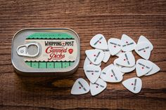 Canned Guitar Picks