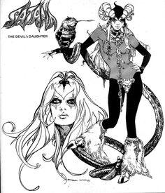 Satana, art by Esteban Maroto