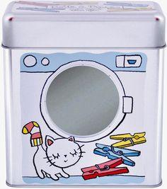 Plåtburk Klädnypor Vit Washing Machine, Home Appliances, Vit, House Appliances, Kitchen Appliances, Washers, Appliances