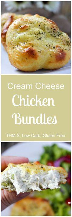 Low Carb Chicken Bundles (THM-S, Gluten Free)