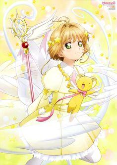 """ Cardcaptor Sakura: Clear Card-hen scan from Newtype. Cardcaptor Sakura, Sakura Kinomoto, Syaoran, Anime Sakura, Manga Anime, Anime Art, Anime Expo, Sakura Card Captors, Arte Sailor Moon"