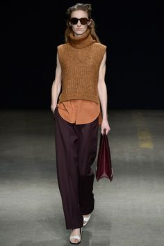 3.1 Phillip Lim | Fall 2014 Ready-to-Wear Collection.  (I never seem to get over my not being tall....aaargh)