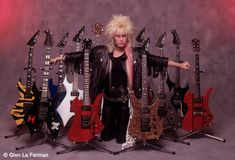 Lita Ford - Guitar (Glen LaFerman: Photography)