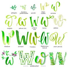 handlettering alphabet buchstabe w Having a fit and fit body is desirable by everyone. Hand Lettering Alphabet, Doodle Lettering, Creative Lettering, Calligraphy Alphabet, Lettering Styles, Brush Lettering, Alphabet Fonts, Typography, Alphabet Letters