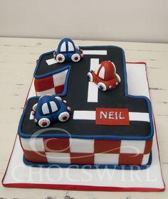 Cars Cake - Chocswirl Cakes
