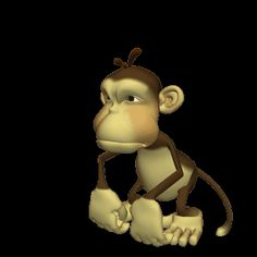 Click on the picture of the monkey to play!