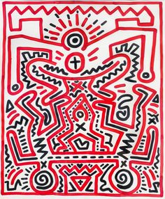 Inspiration: Keith Haring's bold fun designs