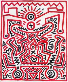Keith Haring - Artist 20th century - Bad Painting - Underground Style