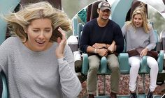 PICTURE EXCLUSIVE Mollie King clings on to model beau David Gandy
