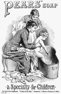 1887 ad for pears soap