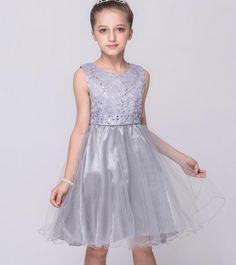$17.50 (Buy here: https://alitems.com/g/1e8d114494ebda23ff8b16525dc3e8/?i=5&ulp=https%3A%2F%2Fwww.aliexpress.com%2Fitem%2F2-9-Years-Old-Flower-Girl-Dress-kids-dress-baby-girls-clothes-2016-kids-girls-party%2F32698090081.html ) 2-9 Years Old Flower Girl Dress kids dress baby girls clothes 2016 kids girls party princess dresses Girls Summer Evening Dress for just $17.50