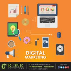 Digital Marketing is an influential technique used to boost a website's presence for the products and services it provides on search engines such as Google, Yahoo and Bing. As a full-service digital marketing company in Delhi India. for more details please visit our website www.iconiccreators.com Or You can make a call at +91 95555 85489 | 98109 79818
