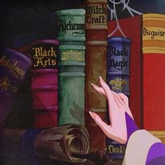 disney witch library