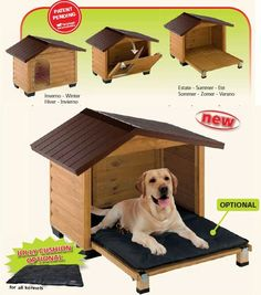 57 ideas diy outdoor dog kennel kitty for 2019 Puppies And Kitties, Dogs, Animals And Pets, Cute Animals, Dog House Plans, Pet Furniture, Pet Life, Outdoor Dog, Dog Houses