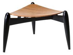 Ilmari Tapiovaara - Tale stool Pouf Ottoman, Mid Century Furniture, Wishbone Chair, Furniture Decor, Designer, Sofas, Stool, Furnitures, Modern