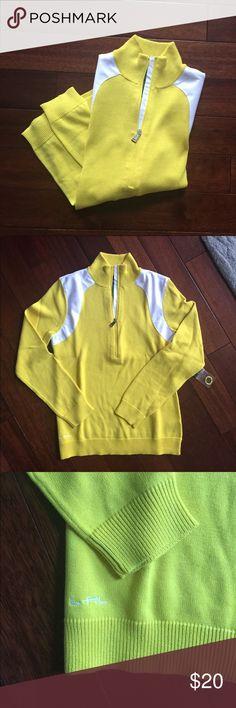 NWT Lauren Lightweight Sweater NWT Lauren Active lightweight yellow sweater. Lauren Ralph Lauren Tops