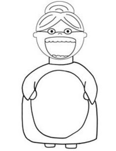 1000 images about school book activities on pinterest for Old lady coloring page