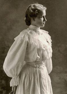 1900s Fashion, Hair Style