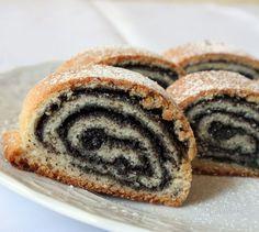 Sweet Desserts, Sweet Recipes, Cake Recipes, Healthy Recipes, Healthy Meals, Czech Recipes, Pastry Cake, Strudel, The Best