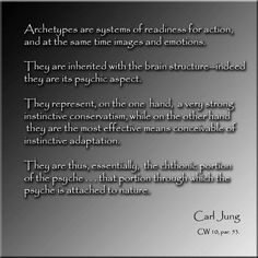 Archetypes Carl Jung Quotation