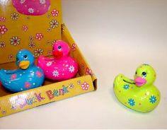 Hucha Pato Ceramica Colores,Detalle Boda,Regalo Infantil,Regalo Bautizo,Regalo Comunion #Grandetalles