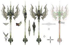 Garuda Axe from Final Fantasy XIV: A Realm Reborn