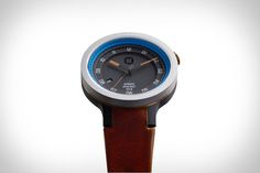Minus 8 Layer Leather Watch | Uncrate