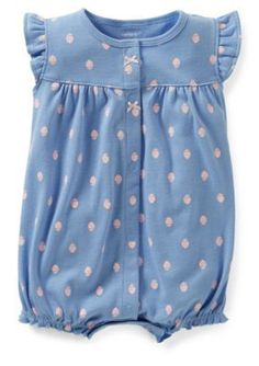 Carters  Strawberry Romper