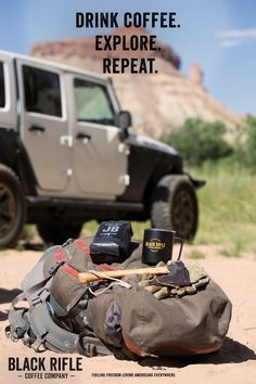 Black Rifle Coffee Company - Drink Coffee, Explore, Repeat! OUR mantra! #AmericasCoffee #BlackRifleCoffee