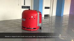 Floor-Washing Robot