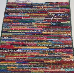 Locker Hooking Rag Rug Www Bloominginchintz Blo Com