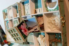 Did you sign up for the Birthday Treasury Shadowbox swap? Or, thinking about making a shadowbox of your own? I love this shadowbox from On...