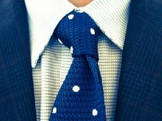 #Fashionable #KnittedTies multiple textures.
