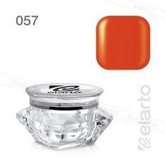 Żel kolorowy nr 057 - oranż satyna 5g #elarto #żel #kolorowy #oranż #satyna