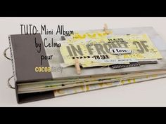 Tuto complet mini album celma - YouTube