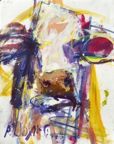 Abstract Cow Artwork, painting by artist Robert Joyner This is awesome!