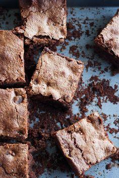 buckwheat flour chocolate brownies - gluten free