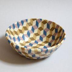 Lozenge Pattern Bowl