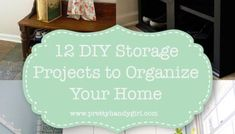 You might enjoy these 12 DIY Storage Projects to help you organize your home (and hide clutter.) All projects come with detailed tutorials to build. Window Seat Storage, Bench With Shoe Storage, Window Seats, Window Treatments Living Room, Custom Window Treatments, Bedroom Window Design, Bay Window Benches, Diy Storage Projects, Banquette Seating In Kitchen