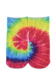 Living Royal Tie-Dye Ankle Socks