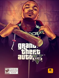 Grnad Theft Auto V artwork by Street Hustle.
