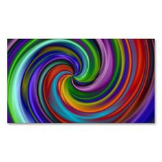 Hypnotic Business Card. I love this design! It is available for customization or ready to buy as is. All you need is to add your business info to this template then place the order. It will ship within 24 hours. Just click the image to make your own!