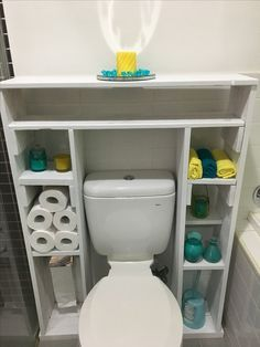 Image result for bathroom shelves from pallets
