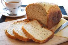 Pan de Parmesano y Piñones. Mis recetas con panificadora